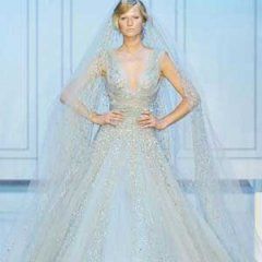 绝美新娘婚纱